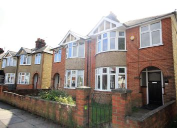 Thumbnail 3 bed semi-detached house to rent in Whitby Road, Ipswich, Suffolk