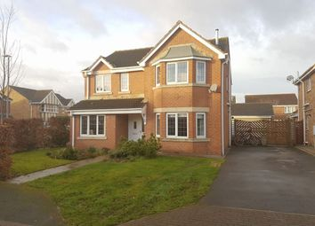 Thumbnail 4 bed detached house for sale in Punton Walk, Snaith, Goole
