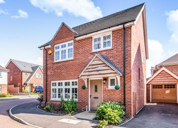 Thumbnail 4 bedroom detached house for sale in Rieth Close, Hinckley
