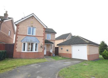 Thumbnail 3 bed detached house for sale in Darwin Close, Waddington, Lincoln