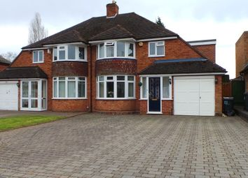 Thumbnail 4 bed semi-detached house for sale in Stirling Road, Sutton Coldfield, West Midlands