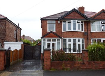 Thumbnail 3 bed semi-detached house for sale in Kirkstall Road, Manchester, Greater Manchester
