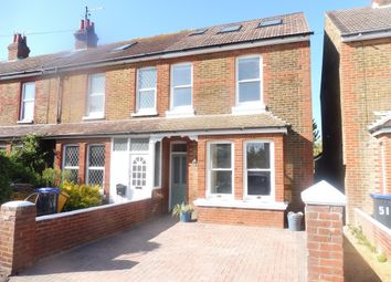 Thumbnail 4 bed semi-detached house for sale in Gordon Road, Shoreham-By-Sea