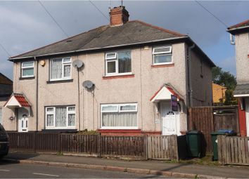 Thumbnail 3 bedroom semi-detached house for sale in Harnall Lane East, Coventry