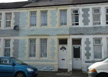 Thumbnail 3 bedroom terraced house for sale in Railway Street, Splott Cardiff