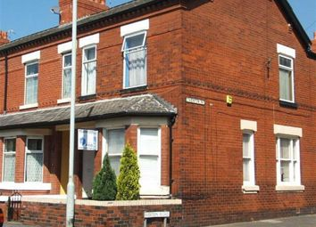 Thumbnail 3 bed end terrace house to rent in Station Road, Reddish, Stockport
