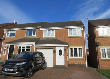 Thumbnail 3 bed semi-detached house for sale in Marwell Drive, Usworth, Washington