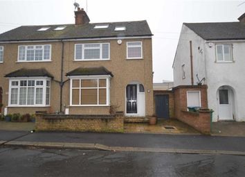 Thumbnail 4 bed semi-detached house for sale in King Georges Avenue, Watford, Herts