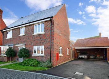 Thumbnail 3 bed detached house for sale in Goldfinch Drive, Ashford, Kent