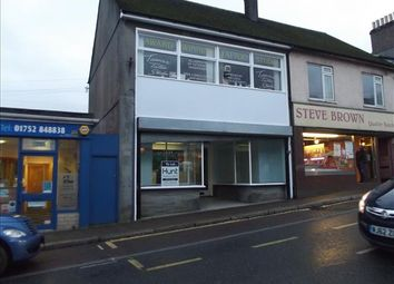 Thumbnail Retail premises for sale in 141/143 Fore Street, Saltash