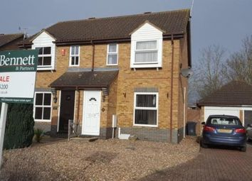 Thumbnail 2 bed semi-detached house for sale in St. Johns Close, Evesham, Worcestershire