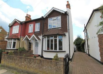 Thumbnail 4 bed semi-detached house for sale in Chaucer Road, Ashford, Middlesex