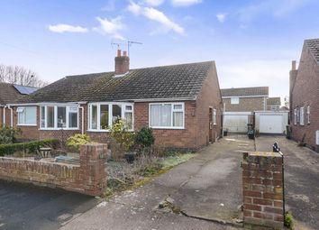 Thumbnail 2 bedroom semi-detached bungalow for sale in Westfield Grove, Wigginton, York