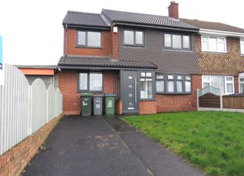 Thumbnail 4 bed semi-detached house for sale in Tunnel Road, Hill Top, West Bromwich