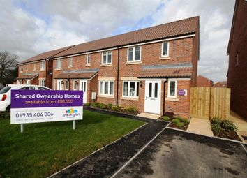 Thumbnail 3 bed end terrace house for sale in Reeves Close, Bathpool, Taunton