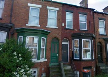 Thumbnail 8 bed terraced house to rent in Ebberston Terrace, Hyde Park, Leeds