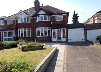 Thumbnail 3 bed property to rent in Lyndon Road, Solihull