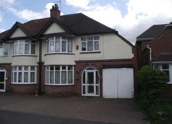 Thumbnail 3 bed semi-detached house for sale in Station Road, Stechford