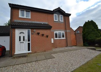 Thumbnail 3 bed detached house for sale in Larchwood Close, Wellingborough, Northamptonshire