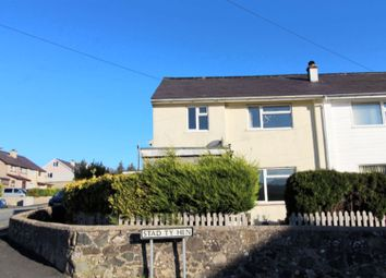 Thumbnail 3 bedroom semi-detached house for sale in Stad Ty Hen, Waunfawr