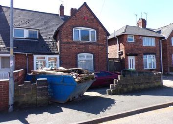 Thumbnail 3 bedroom semi-detached house for sale in Beatrice Street, Walsall