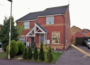 Thumbnail 2 bed semi-detached house for sale in Gregorys Close, Thorpe Astley, Leicester