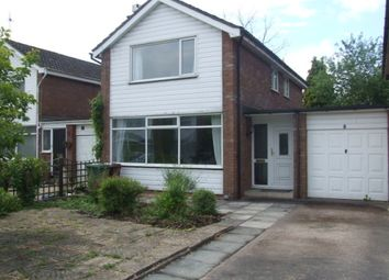 Thumbnail 3 bed detached house to rent in 8 Booth Road, Hartford, Cheshire