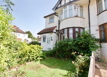 Thumbnail 3 bed maisonette to rent in Braemar Avenue, London