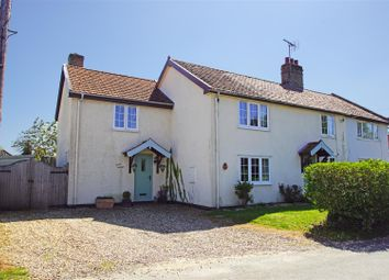 Thumbnail 4 bed cottage for sale in Leys Road, Tostock, Bury St. Edmunds