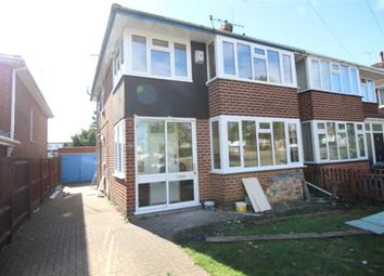 Thumbnail 3 bed semi-detached house to rent in Kenpas Highway, Styvechale, Coventry