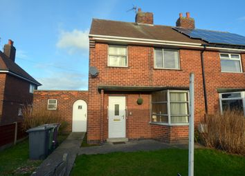 Thumbnail 3 bed semi-detached house for sale in Poplar Drive, Glapwell, Chesterfield