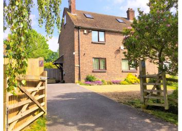 Thumbnail 3 bed semi-detached house for sale in Back Lane, Shipbourne Tonbridge