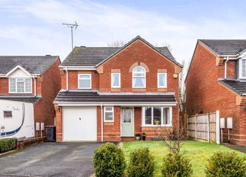 Thumbnail 4 bed detached house for sale in Bamford Grove, Uttoxeter