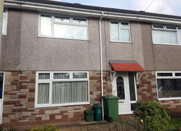 Thumbnail 3 bed terraced house to rent in Maes Trane, Pontypridd