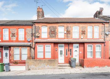 Thumbnail 3 bed terraced house for sale in Sherlock Lane, Wallasey