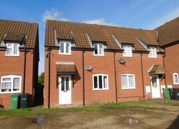 Thumbnail 2 bedroom town house for sale in Fern Court, Pople Street, Wymondham