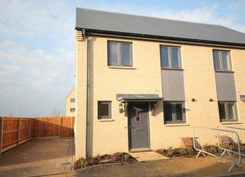 Thumbnail 3 bed semi-detached house for sale in King Edgar Close, Ely