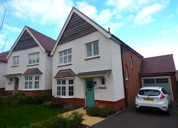 Thumbnail 3 bedroom detached house to rent in Meadow Rise, Newton Abbot