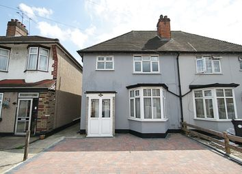 Thumbnail 3 bedroom semi-detached house to rent in Mitchell Road, Palmers Green