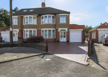 Thumbnail 3 bed semi-detached house for sale in St Angela Road, Heath, Cardiff