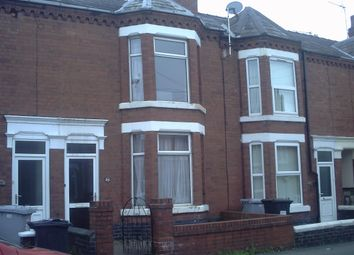Thumbnail 4 bed shared accommodation to rent in Ernest Street, Crewe