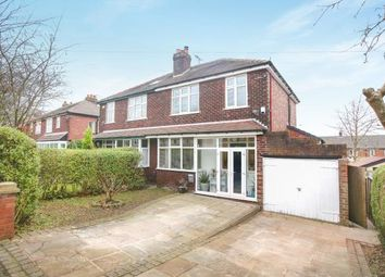 Thumbnail 3 bedroom semi-detached house for sale in Cross Lane, Marple, Stockport