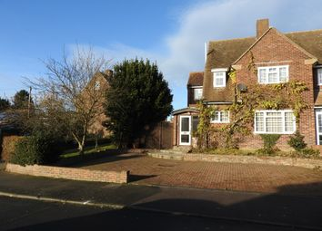 Thumbnail 3 bed semi-detached house to rent in Lawrence Drive, Cobham, Gravesend