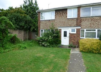 Thumbnail 3 bed end terrace house for sale in Kempston, Beds
