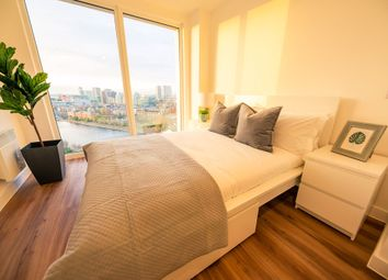 Thumbnail 1 bed flat for sale in 15 Trafford Road, Salford, Manchester
