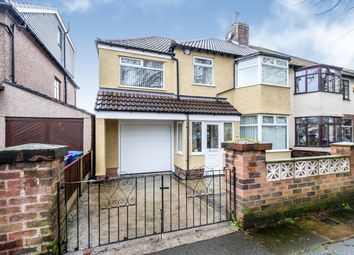 Thumbnail 4 bed semi-detached house for sale in Brodie Avenue, Allerton, Liverpool