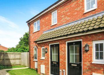 Thumbnail 3 bedroom semi-detached house for sale in Carpenter Close, Wymondham