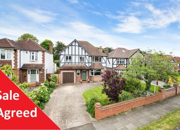 Thumbnail 4 bed detached house for sale in Edenfield Gardens, Old Malden, Worcester Park