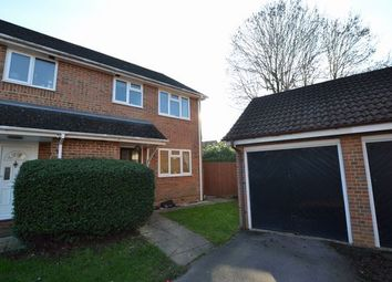 Thumbnail 3 bed semi-detached house for sale in Nether Vell-Mead, Church Crookham, Fleet
