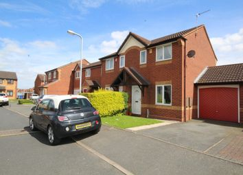 Thumbnail 2 bed semi-detached house to rent in Fontwell Road, Burton-On-Trent